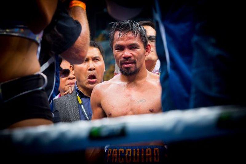 Petinju Filipina, Manny Pacquiao (Foto: AFP)