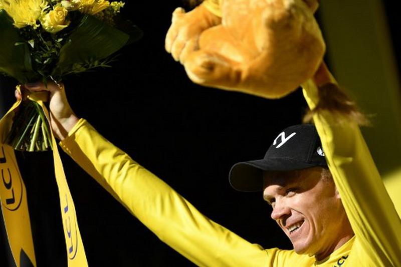 Chris Froome (Foto: Lionel Bonaventure/AFP)