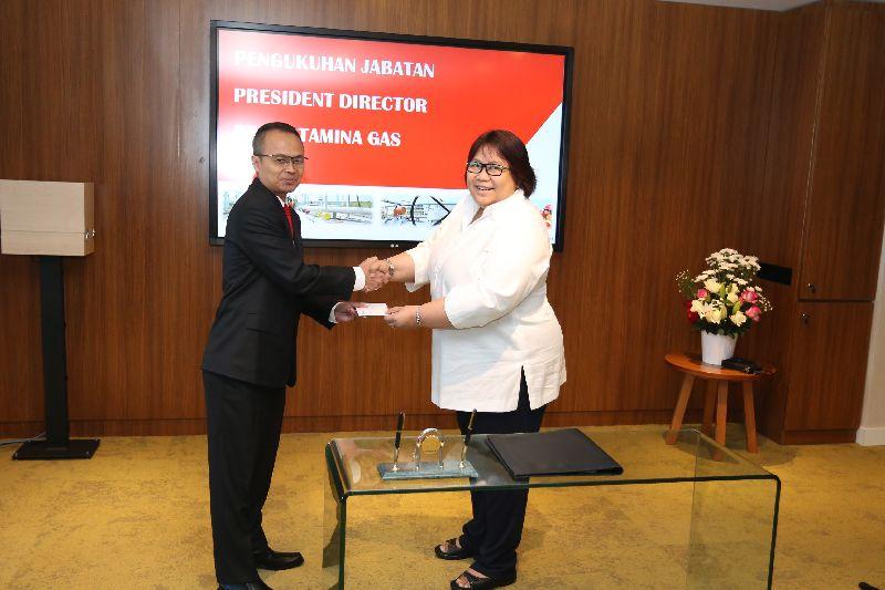 \Suko Hartono Ditunjuk Jadi Presiden Direktur Pertagas yang Baru\