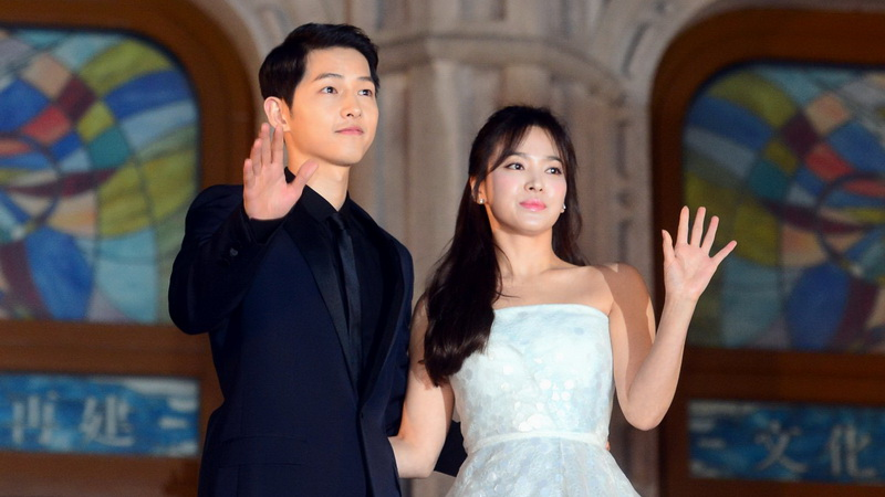 Song Hye Kyo dan Song Joong Ki (Foto: Koreaboo)