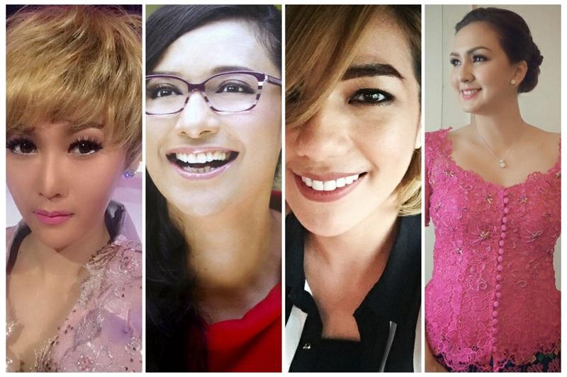 Inul Daratista, Donna Agnesia, Sheila Marcia, dan Shahnaz Haque. (Foto: Instagram)