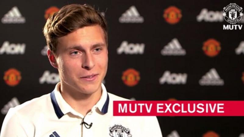 Lindelof bangga bermain di utama Man United. (Foto: MUTV)