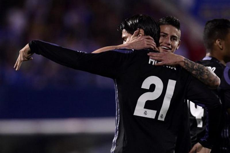Morata selangkah lagi gabung Milan. (Foto: AFP/Javier Soriano)
