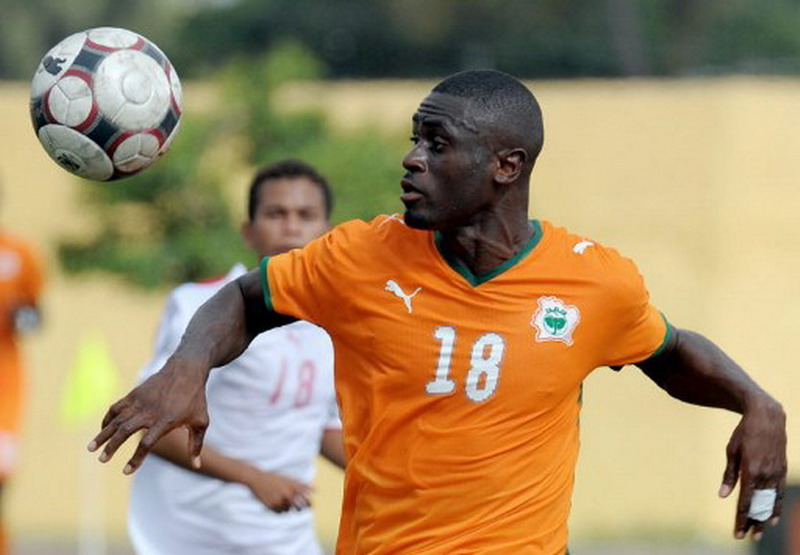 Sanogo saat membela Timnas Pantai Gading. (Foto: AFP/Issouf Sanogo)