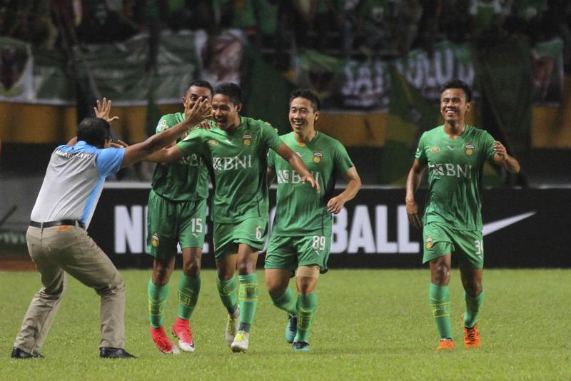 Bhayangkara FC incar kemenangan di markas Persela. (Foto: ANTARA/Nova Wahyudi)
