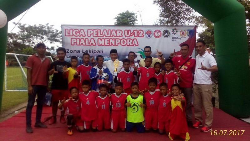 Gelora Serame sukses selenggarakan Piala Menpora U-12. (Foto: Istimewa)