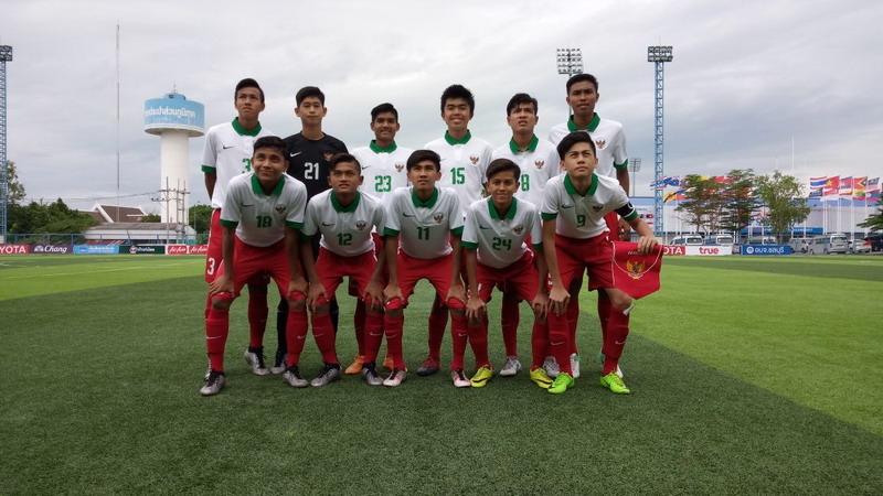 Timnas Indonesia U-16 (Foto: Twitter PSSI)