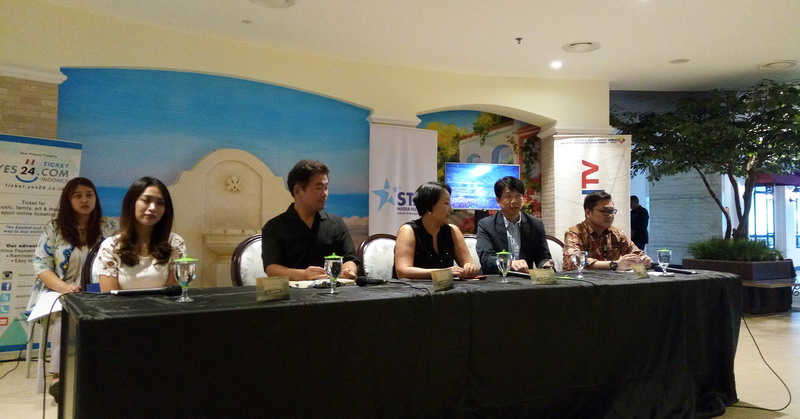 Suasana Konferensi Pers Music Bank (Foto: Rima/Okezone)