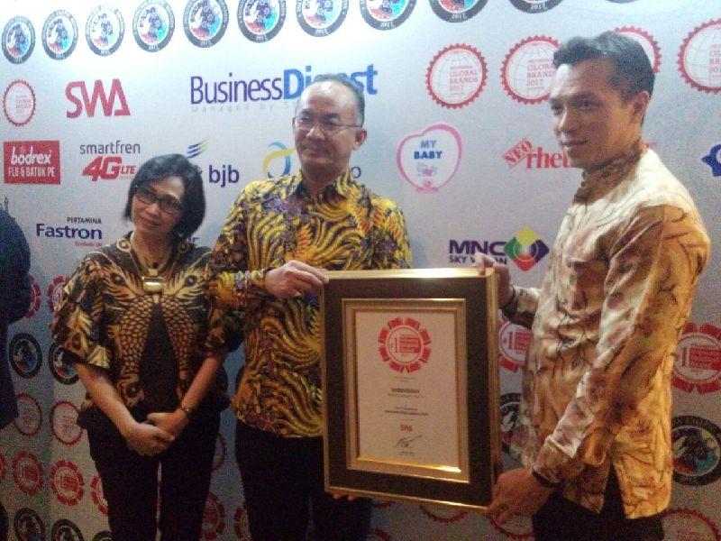 MSKY Kualitas Layanan Terbaik, Indovision Raih 9 Penghargaan Tahun Ini : Okezone Ekonomi
