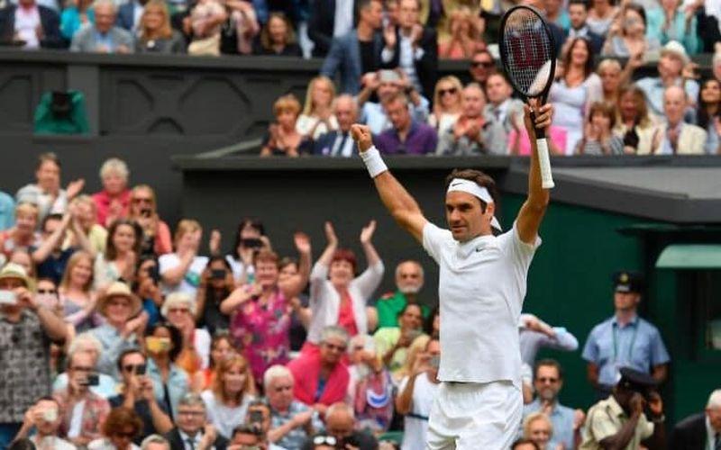 Petenis Swiss, Roger Federer (Foto: AFP)