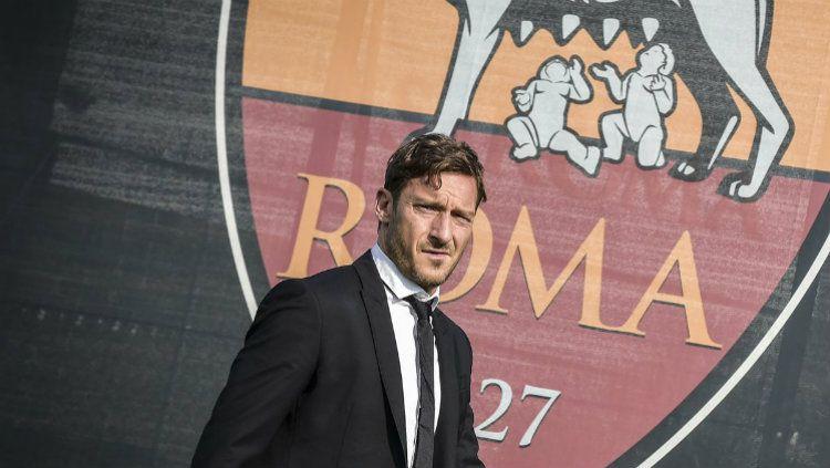 Francesco Totti. (Foto: Twitter AS Roma)