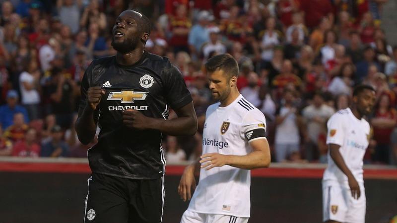Romelu Lukaku (Foto: Twitter Manchester United)