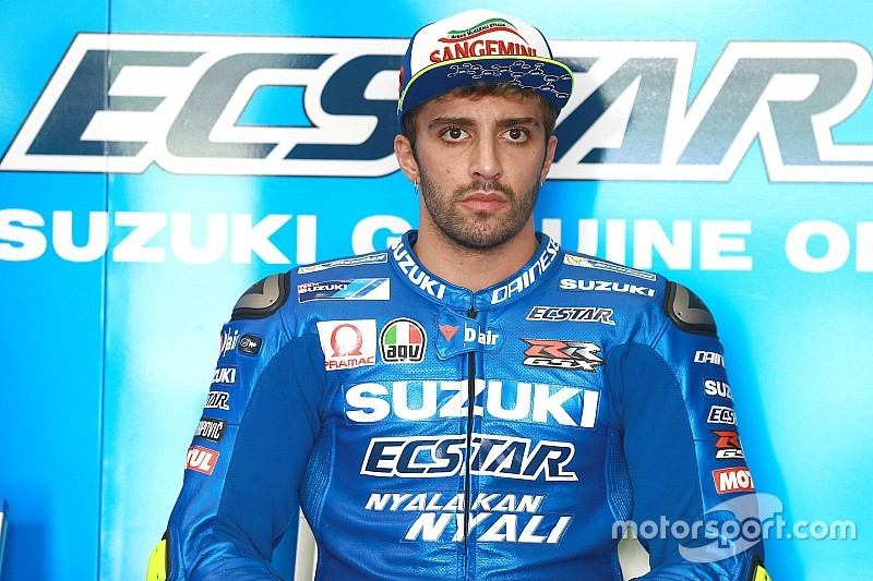 Andrea Iannone / foto: laman resmi Suzuki