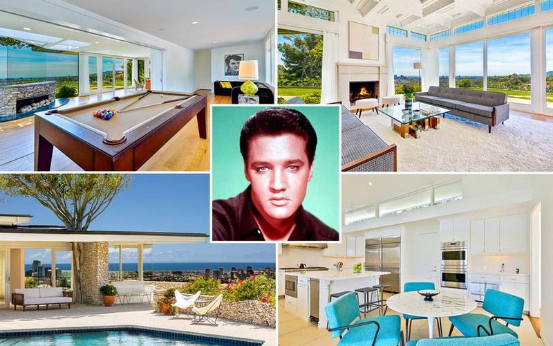 Sewa Rumah Rp53 Juta per Malam, Rasakan Indahnya Sehari Jadi Raja di Bekas Rumah Elvis Presley