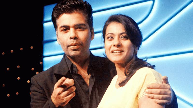 Karan Johar dan Kajol (Foto: Ist)