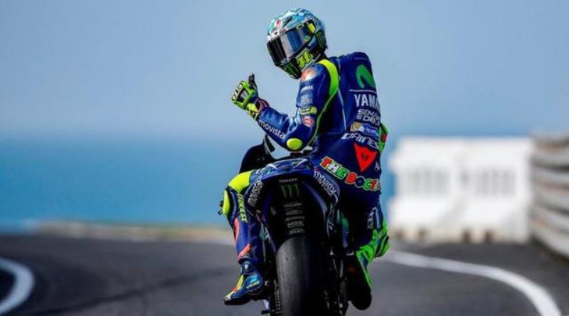Valentino Rossi. (Foto: Autobild)