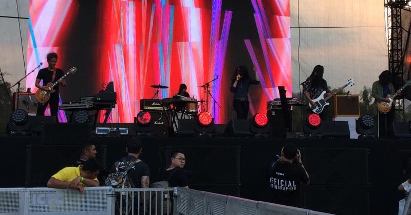 Konser WTF (Foto: Ady/Okezone)