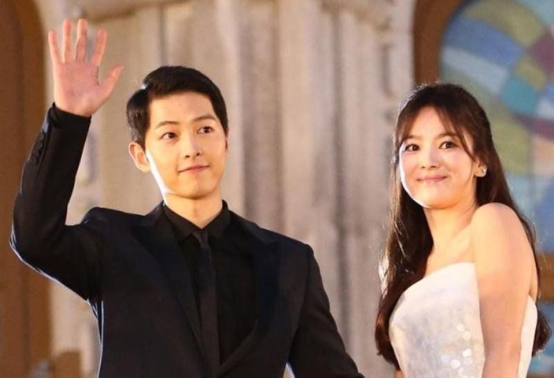 Song Joong Ki dan Song Hye Ko (Foto: Kpopherald)