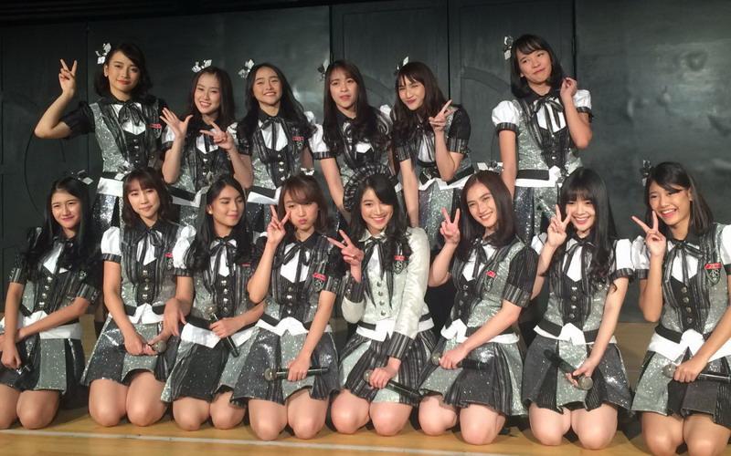 Member JKT48 (Foto: Sarah/Okezone)