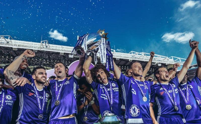 Chelsea juara (Foto: Twitter resmi Chelsea)