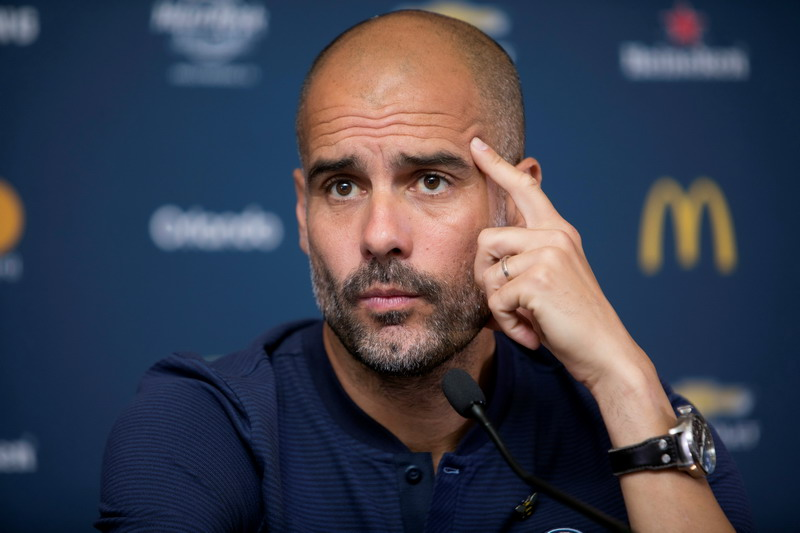 Pep Guardiola (Foto: Daniel Krame/Reuters)
