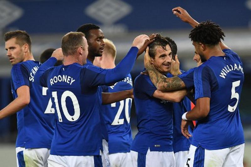 Everton tantang Stoke City. (Foto: AFP/Paul Ellis)