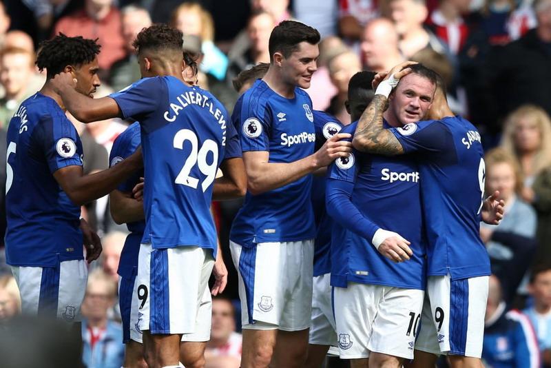 Everton menang 1-0 atas Stoke City (Foto: Twitter @Everton)
