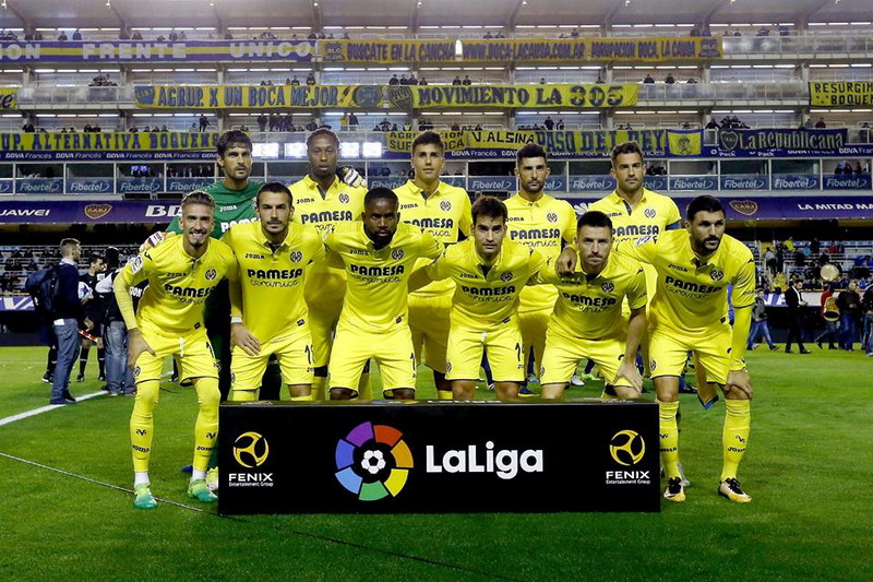 Villarreal siap mengarungi musim 2017-2018. (Foto: Facebook Villarreal)