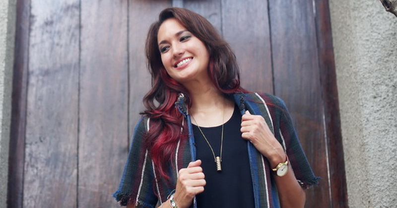 Nadine Chandrawinata (Foto: Okezone)