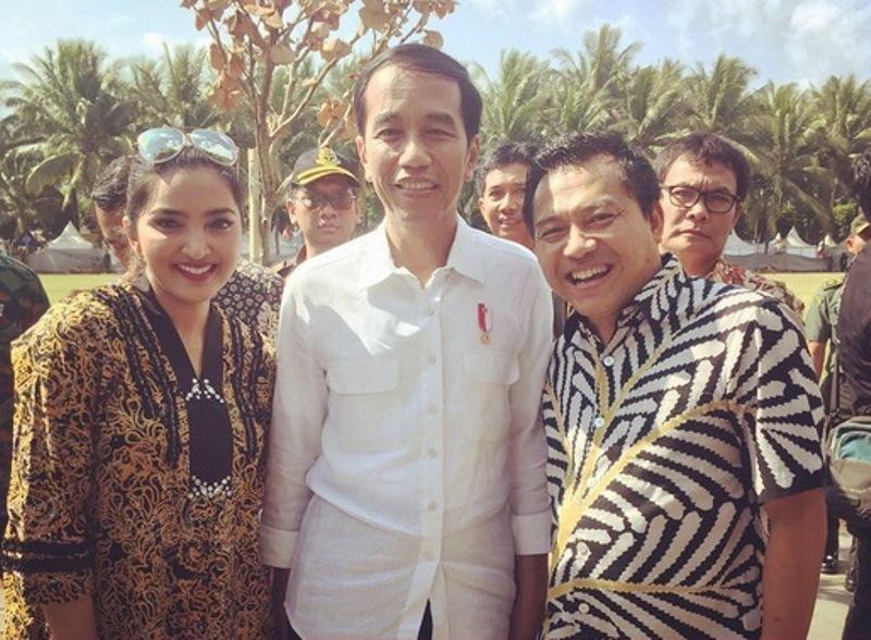 Anang-Ashanty & Presiden Jokowi (Foto: Instagram)