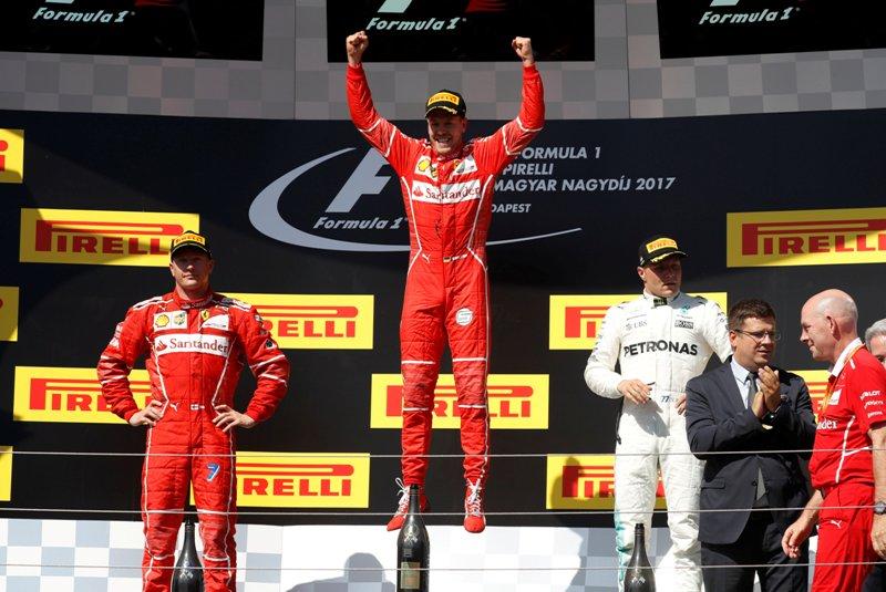 Sebastian Vettel. (foto:Reuters)