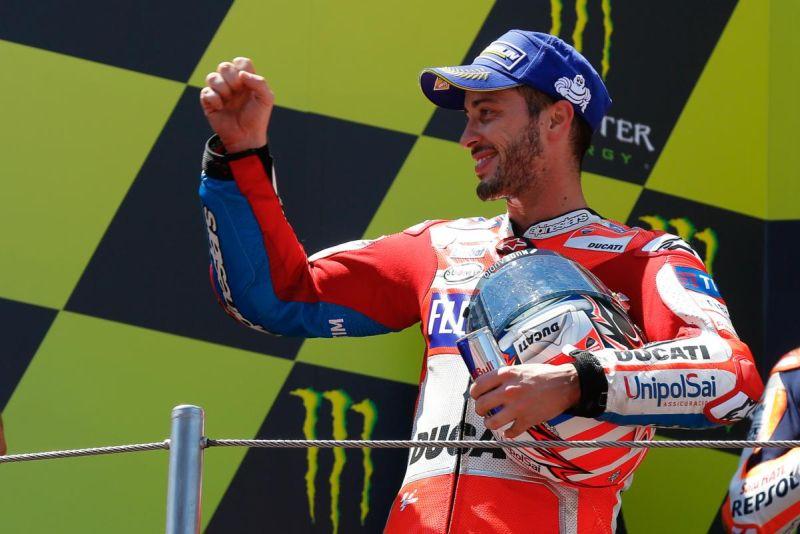 Andrea Dovizioso. (foto:Situs resmi MotoGP)