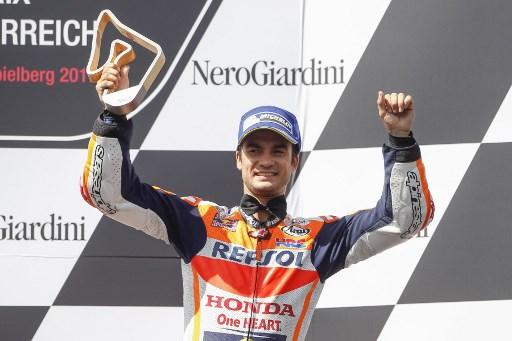 Pembalap Tim Repsol Honda, Dani Pedrosa (Foto: AFP)