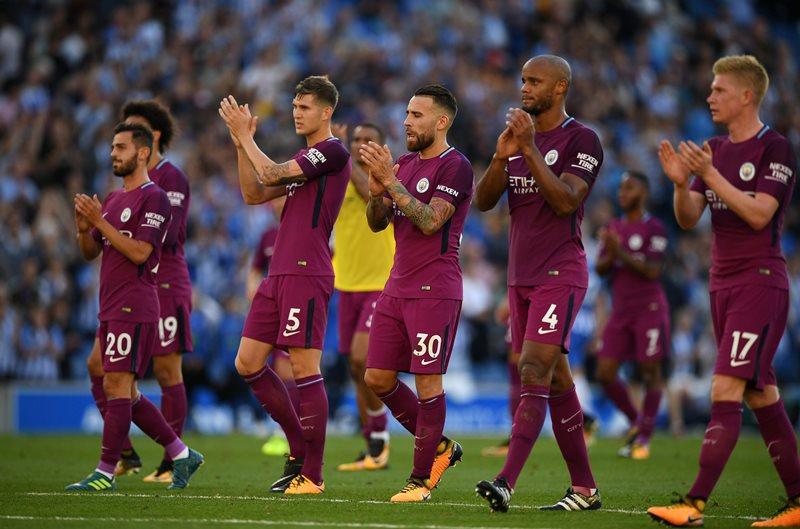 Manchester City berhasil mencuri poin di kandang lawan. (Foto: Reuters)
