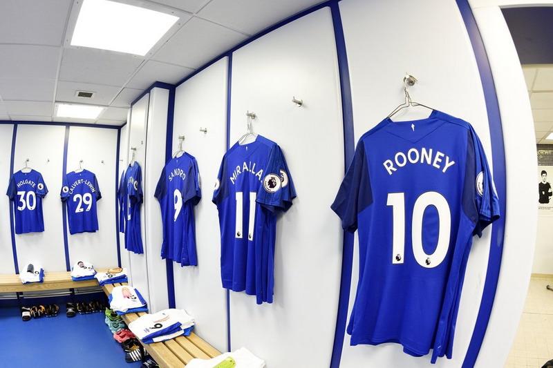 Ruang ganti Everton (Foto: Twitter @Everton)