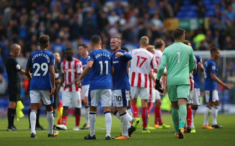 Everton vs Stoke City (Foto: Twitter @Everton)