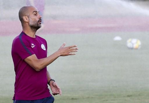 Pelatih Manchester City, Pep Guardiola (Foto: AFP)
