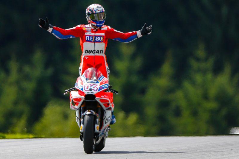 Pembalap Ducati Corse, Andrea Dovizioso (Foto: Laman Resmi MotoGP)