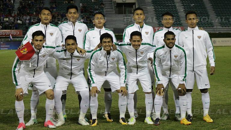 Timnas Indonesia U-22 berlaga di SEA Games 2017 (Foto: Bolalob)