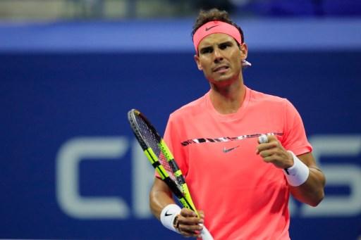 Petenis Spanyol, Rafael Nadal (Foto: AFP)