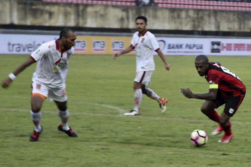 Borneo siap hadapi Bali United. (Foto: ANTARA/Indrayadi TH)