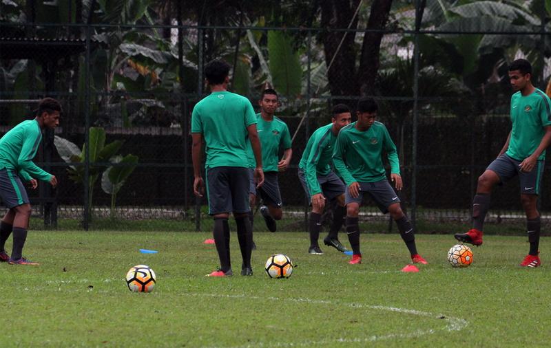 Timnas Indonesia U-19 saat berlatih. (Foto: PSSI)