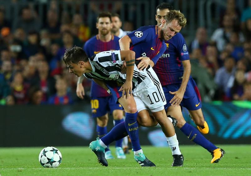 Barcelona vs Juventus (Foto: Reuters/Albert Gea)