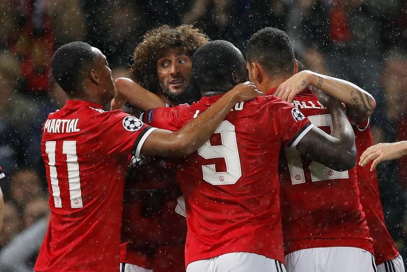 Man United menang 3-0 (Foto: REUTERS/Darren Staples)