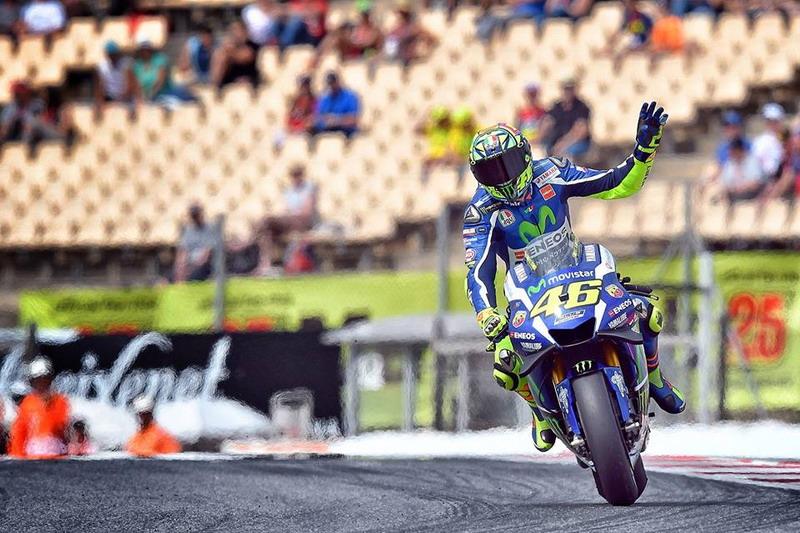 Rossi sebut masih miliki kecepatan. (Foto: Facebook Valentino Rossi)