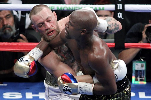 Conor McGregor vs Floyd Mayweather (Foto:AFP)