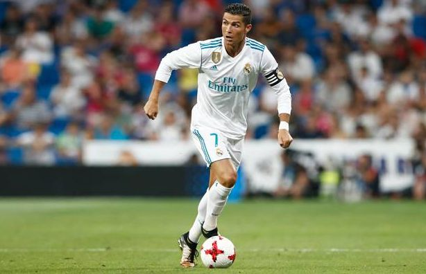 Cristiano Ronaldo (Foto: Laman resmi Real Madrid)