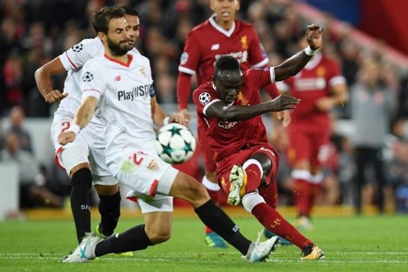 Liverpool kontra Sevilla (Foto: AFP)
