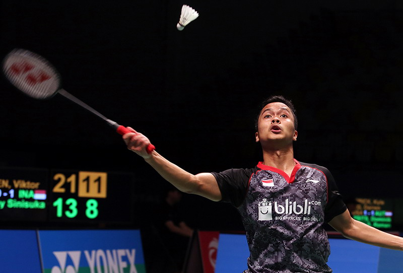 Anthony Ginting (Foto:PBSI)