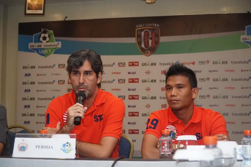 Teco minimal membawa Persija meraih satu angka di kandang Bali United. (Foto: Media Persija)